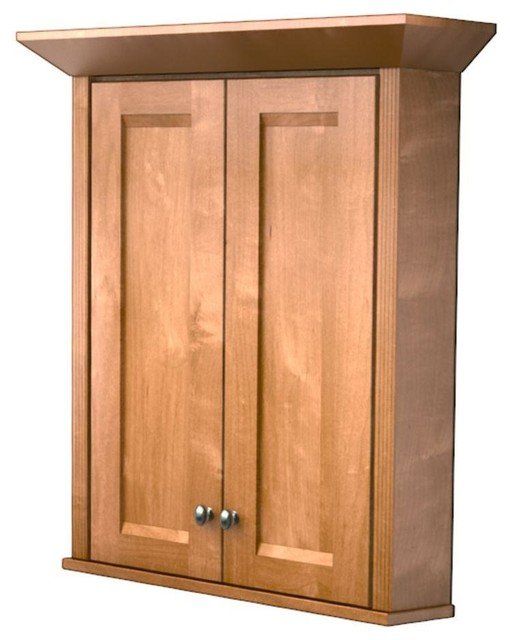 ... Wall Cabinet with - Contemporary - Medicine Cabinets - by Home Depot