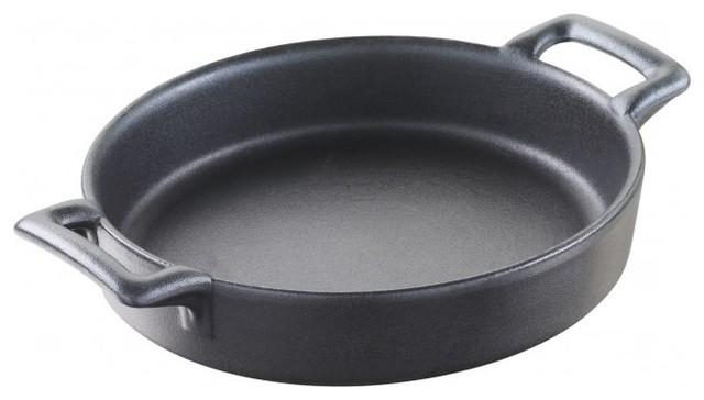 Revol Porcelain Belle Cuisine Creme Brul 233 E Dish Cast Iron