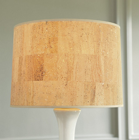 Couture Drum Table/ Floor Lamp Shade - Contemporary - Lamp ...