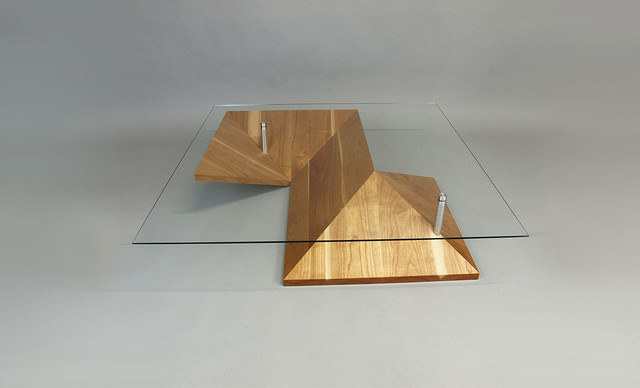 Modern coffee table - Origami contemporary-coffee-tables