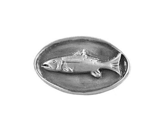 Sierra Lifestyles - Fish Mount Knob - Pewter (SIE-681318) - Fish Mount Knob - Pewter