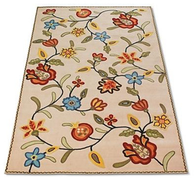 Crewel Vine Outdoor Area Rugs Outdoor Rugs by Grandin Road