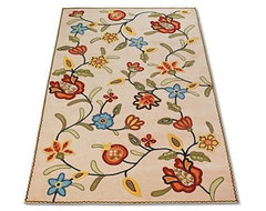 Crewel Vine Outdoor Area Rugs outdoor-rugs