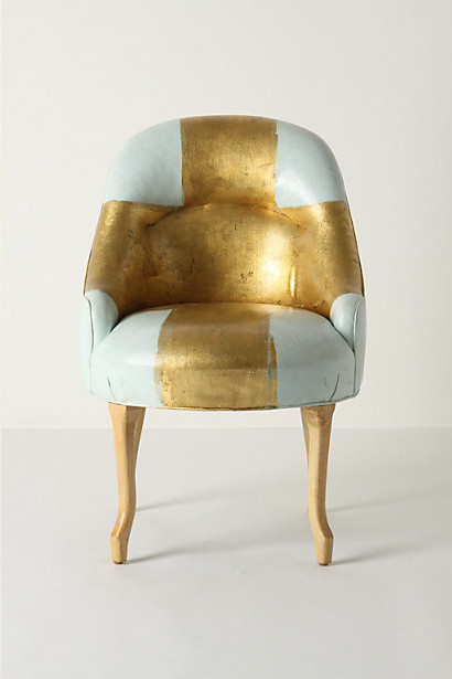 Painted Bias Armchair contemporary-armchairs-and-accent-chairs