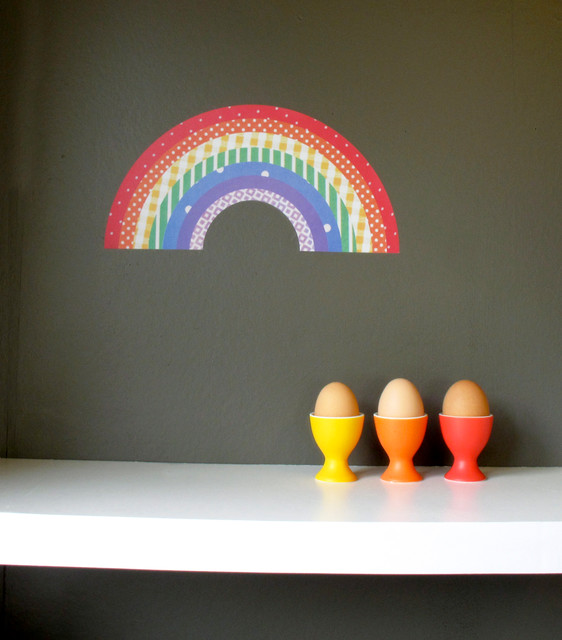 Rainbow Decal contemporary-wall-decals