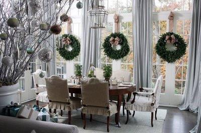 Christmas House Breakfast Room traditional