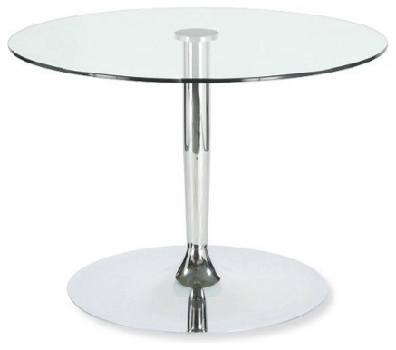 Planet Small Glass Table Modern Dining Tables By