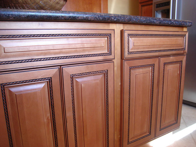 Rope Kitchen Cabinets Home Design - Traditional - Kitchen Cabinetry - columbus - by Lily Ann ...