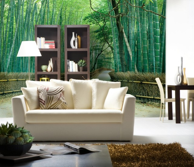 Asian wall murals asian wallpaper other metro by for Asian mural wallpaper