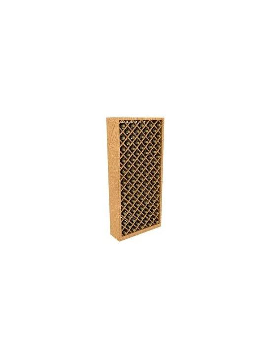 6' Individual Diamond Bin Storage Wood Wine Rack - The 6' Individual Diamond Bin Storage Wood Wine Rack is part of our 6' Series.