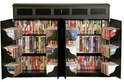 Venture Horizon Top Load Media Cabinet modern-media-storage