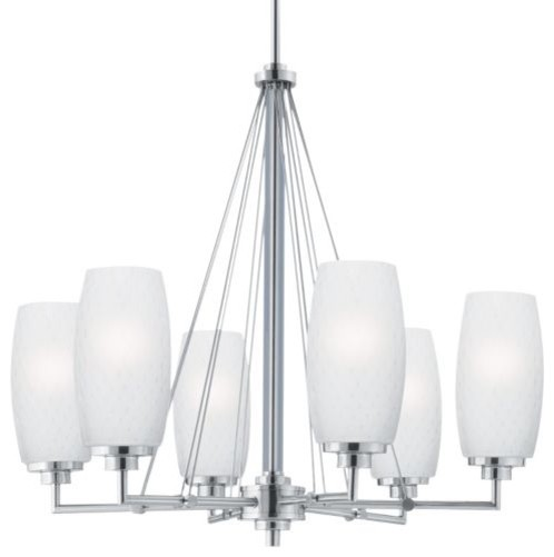 Vado 6-Light Chandelier contemporary chandeliers
