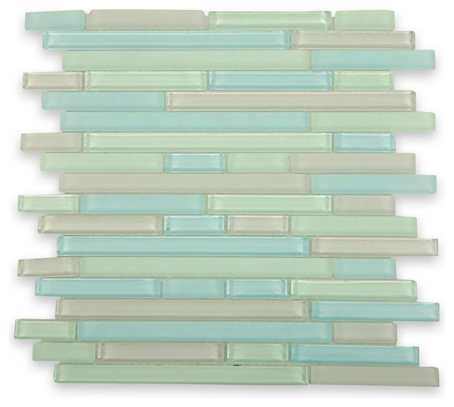 Tao Beach Glass Tiles contemporary-tile