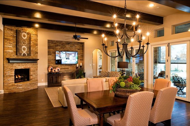 Whitman Interiors Model Home In Southlake Transitional