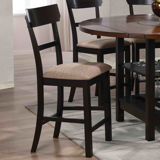 Counter Height Stools Houzz : Counter Height Stool, Light/Dark Walnut - Set of 2 modern-bar-stools ...