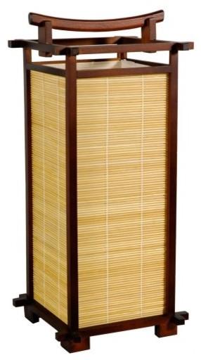 Nara Lamp - Walnut asian-table-lamps