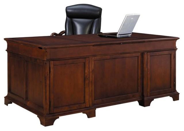 Hekman Weathered Cherry Executive Desk
