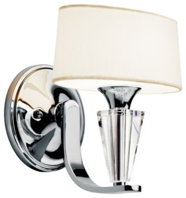 Crystal Persuasion Wall Sconce by Kichler wall-sconces