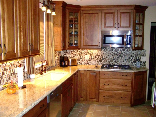 """BEFORE & AFTERS"" traditional-kitchen"