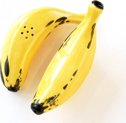 Banana Salt and Pepper tropical-salt-and-pepper-shakers-and-mills
