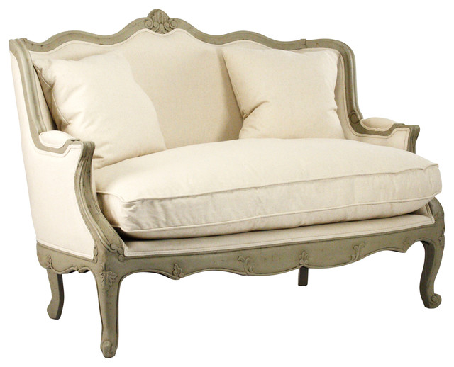 Adele Settee traditional-loveseats
