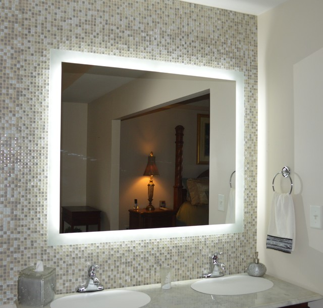 23 Elegant Bathroom Mirrors With Led Lights | eyagci.com