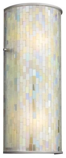 Mosaico 2-lt Wall Sconce modern-wall-lighting