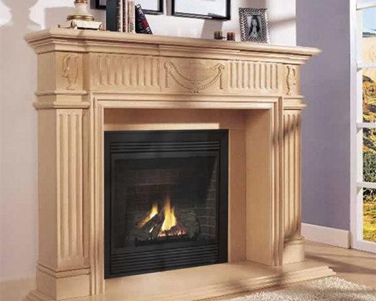 Marble Fireplace Mantels - Regent -