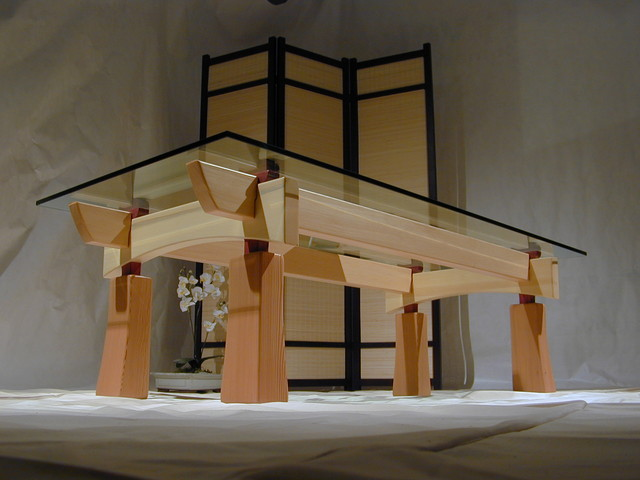 Craftsman Timber Frame Furniture - Asian - Coffee Tables - vancouver ...