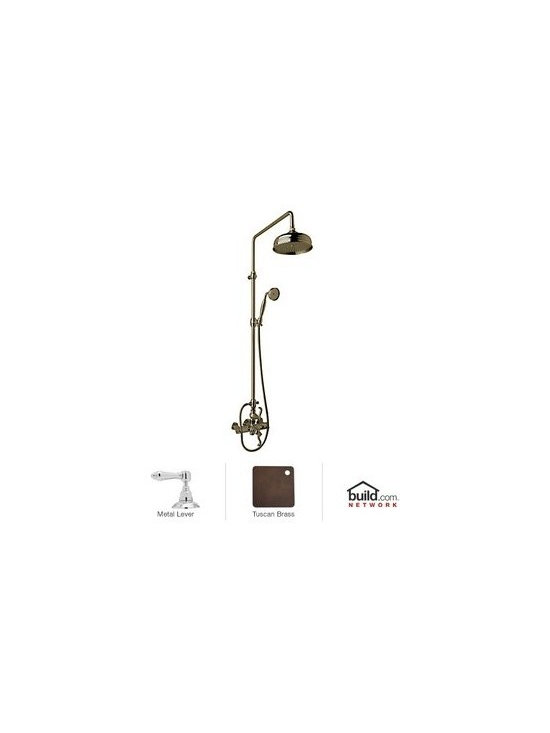 Rohl AKIT47171LM Alessandria Shower System with Exposed Thermostatic Valve, Show -