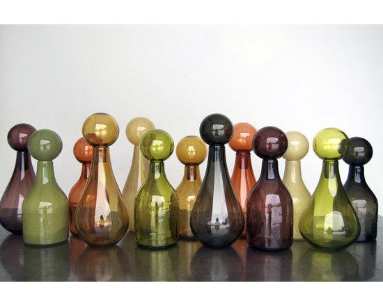 Elizabeth Lyons Glass Zest Mini Jar Collection -