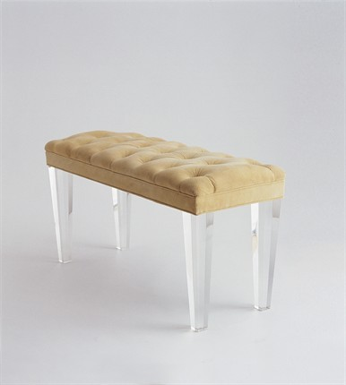 Mercer Bench by Jan Showers contemporary bedroom benches