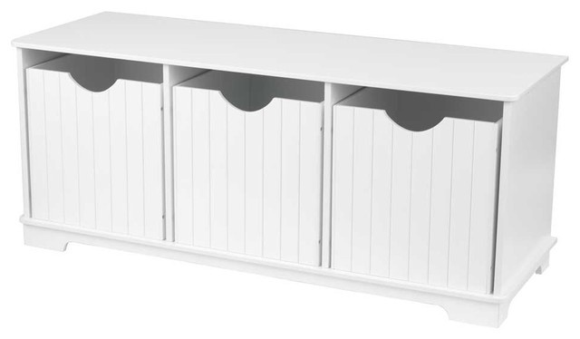 Nantucket Storage Bench by Kidkraft modern toy storage