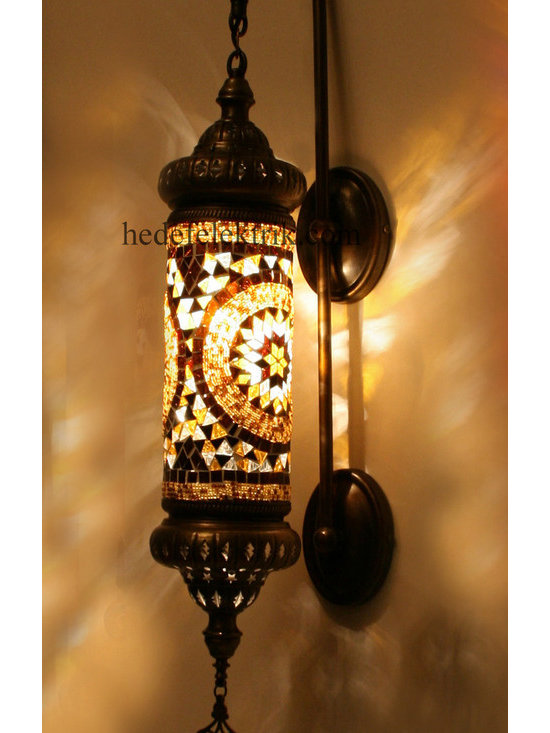 Ottoman Turkish Style Mosaic Lighting Wall Sconce - Code: HD-20003_15