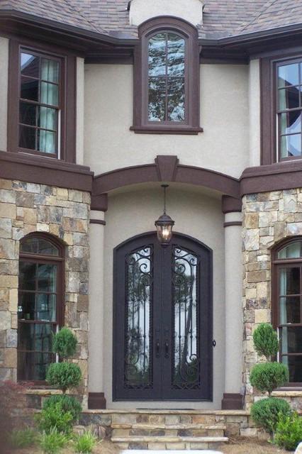 Wrought Iron Doors Front Doors Atlanta By Rebach Enterprises Inc