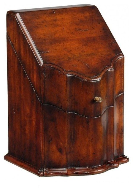 New Jonathan Charles Knife Box Buckingham traditional-kitchen-knives-and-accessories