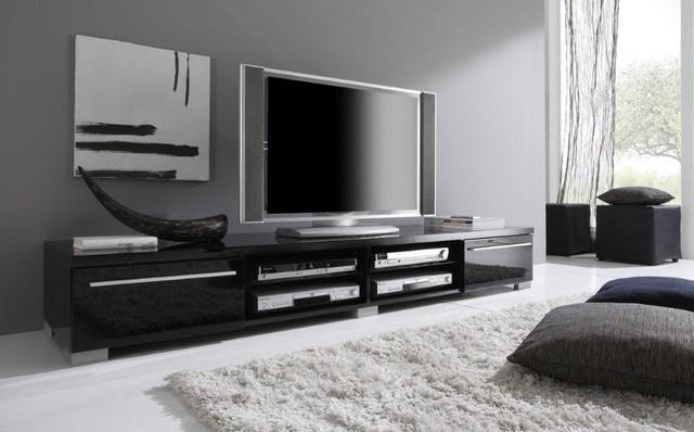 Modern TV Stand Mare 82 Black Modern