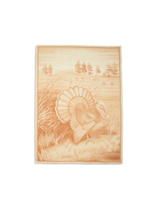 Italian Turkey Jacquard Kitchen Towel -