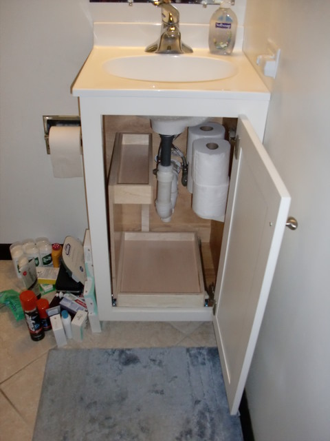 Bathroom storage solutions bathroom cabinets and shelves for Small bathroom vanity with storage