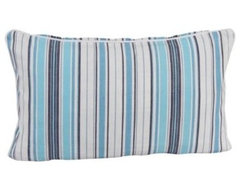 New England Stripe Cushion modern pillows