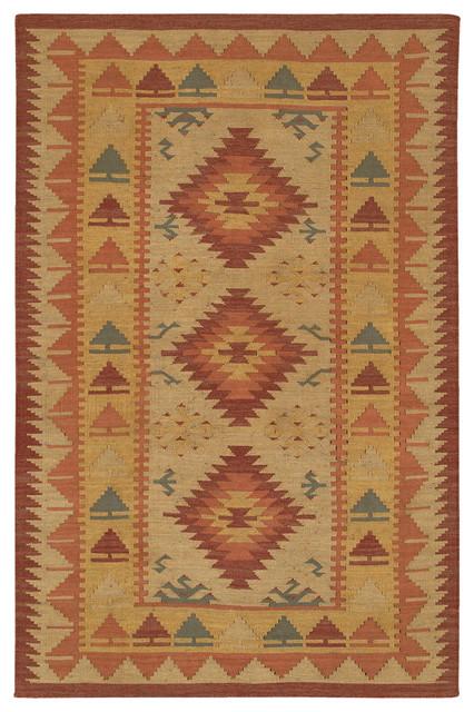 Chandra KIL2213-79106 Kilim Flat-Weaved Traditional Rug traditional-rugs