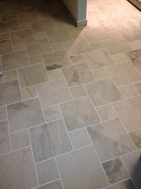 Condo Kitchen contemporary-floor-tiles