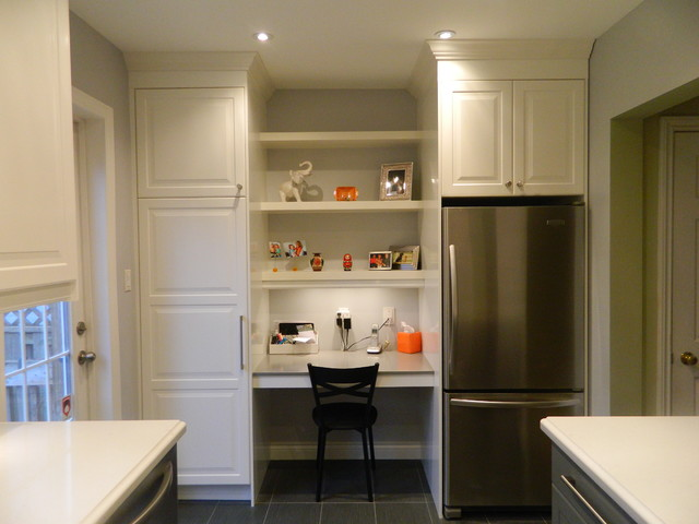 IKEA Kitchens - Lidingo Gray and Lidingo White traditional