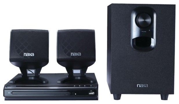 NAXA ND857 2.1-Channel DVD Home Theater System modern-home-electronics
