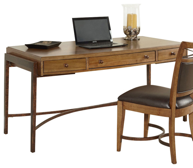 hammary home office leg desk traditional desks by beyond stores