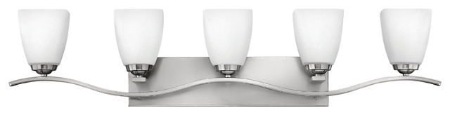 Josie 5375BN Bath Wall Sconce by Hinkley contemporary-bathroom-vanity-lighting