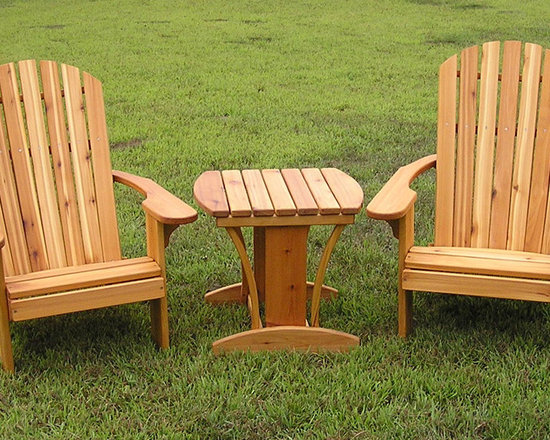 Adirondack Chairs and Table -