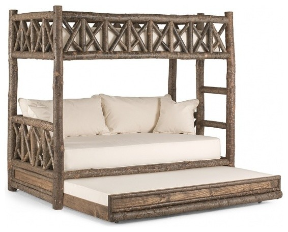 Rustic Bunk Bed #4256 by La Lune Collection rustic-bunk-beds
