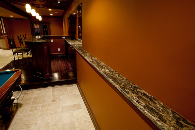 Custom Granite Drink Rail