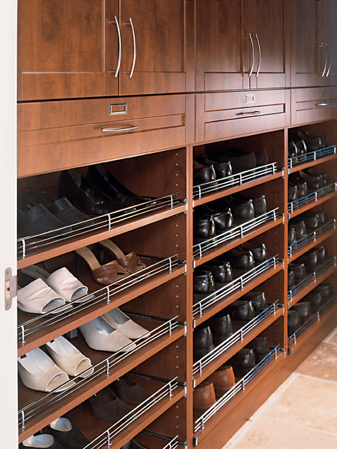 Shoe Racks - Contemporary - Shoe Storage - other metro - by Organized Interiors